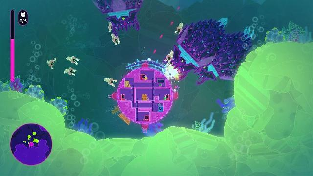 Lovers in a Dangerous Spacetime screenshot 4474