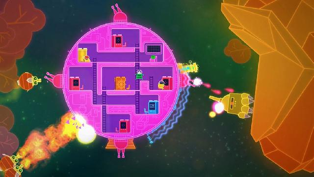Lovers in a Dangerous Spacetime screenshot 4477