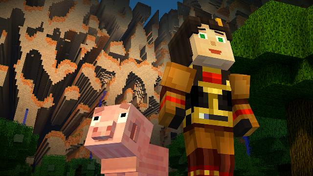 Minecraft Story Mode Episode 4 Screenshot 2