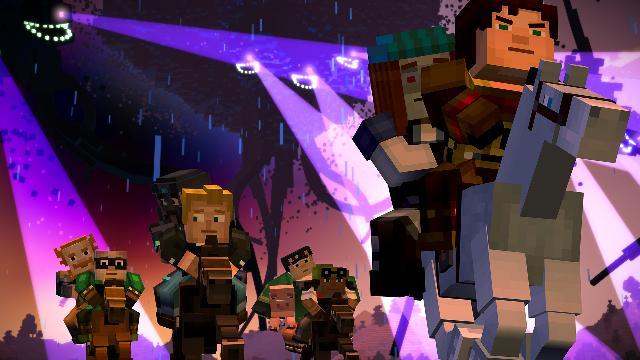 Minecraft Story Mode Episode 4 Screenshot 3
