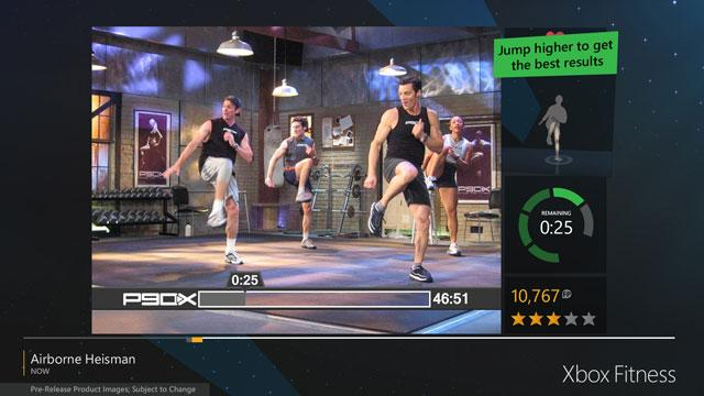 Xbox Fitness screenshot 580
