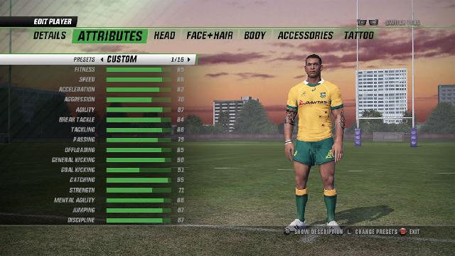 Rugby Challenge 3 screenshot 6615