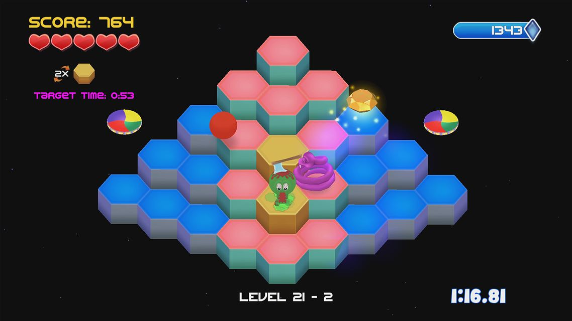 Q*bert REBOOTED: The XBOX One @!#?@! Edition screenshot 5960
