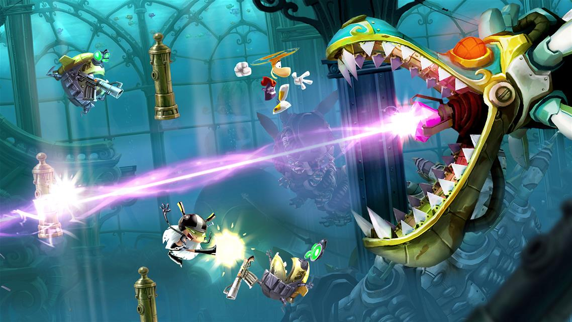 Rayman Legends screenshot 837