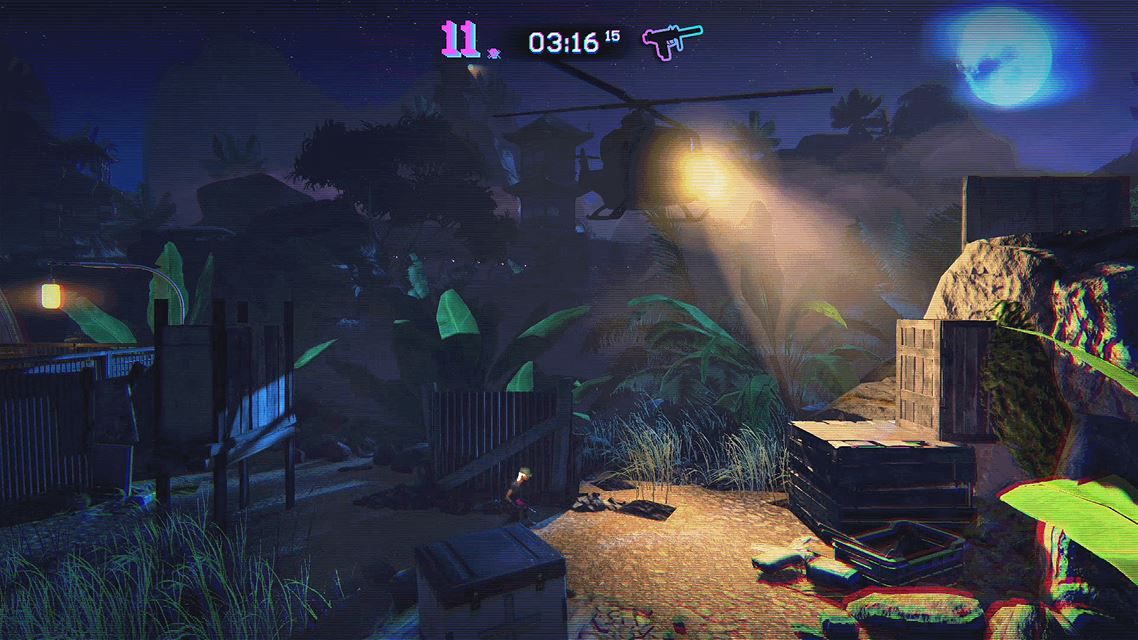 Trials of the Blood Dragon screenshot 7078