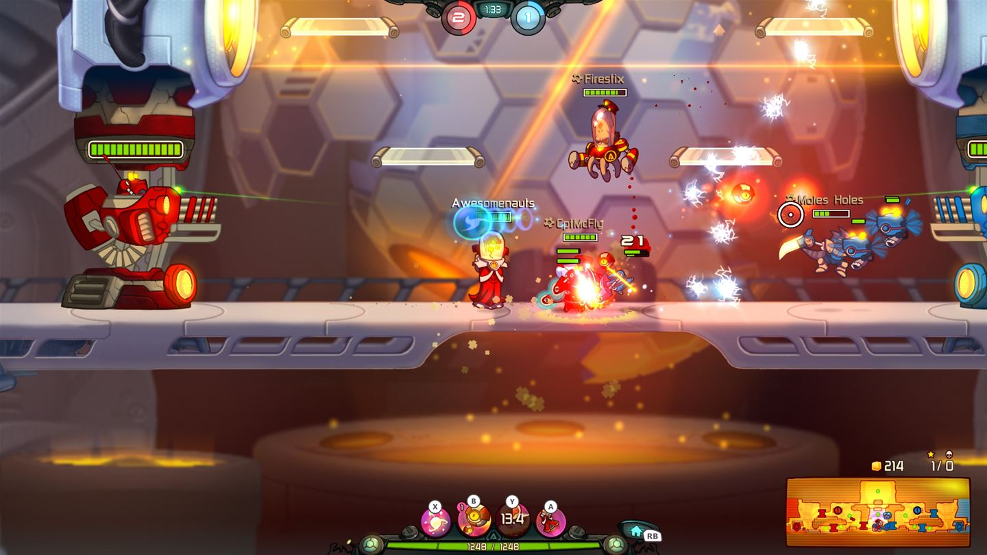 Awesomenauts Assemble! screenshot 7928