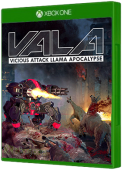 VALA: Vicious Attack Llama Apocalypse Xbox One Cover Art