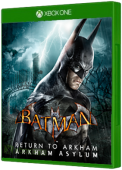 Batman: Arkham Asylum Xbox One Cover Art