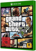 Grand Theft Auto V Xbox One Cover Art
