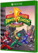 Mighty Morphin Power Rangers Mega Battle Xbox One Cover Art