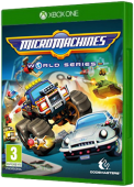 Micro Machines World Series Xbox One Cover Art