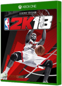 NBA 2K18 Xbox One Cover Art