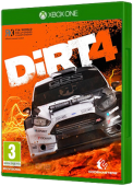DiRT 4 video game, Xbox One, xone