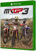 MXGP3: The Official Motocross Video Game Xbox One Cover Art