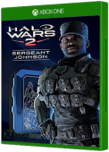 Halo Wars 2: Leader Sergeant Johnson Xbox One Cover Art