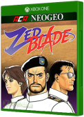 ACA NEOGEO: Zed Blade Xbox One Cover Art