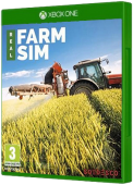 Real Farm Sim Xbox One Cover Art