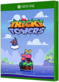 Tricky Towers Xbox One Cover Art