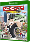Monopoly Family Fun Pack Xbox One Cover Art