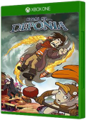 Chaos on Deponia Xbox One Cover Art