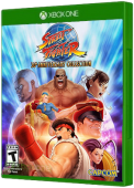 Street Fighter 30th Anniversary Collection Xbox One Cover Art