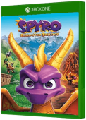 Spyro Reignited Trilogy Xbox One Cover Art
