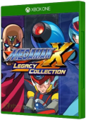 Mega Man X Legacy Collection video game, Xbox One, xone