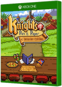 Knights of Pen and Paper +1 Deluxier Edition Xbox One Cover Art