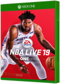 NBA Live 19 Xbox One Cover Art