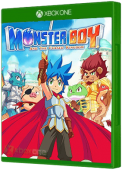 Monster Boy And The Cursed Kingdom Xbox One Cover Art