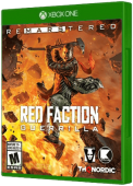 Red Faction: Guerrilla Re-Mars-tered Xbox One Cover Art