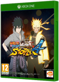 NARUTO SHIPPUDEN: Ultimate Ninja STORM 4 Xbox One Cover Art