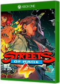 Streets of Rage 4 Xbox One Cover Art