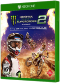 Monster Energy Supercross 2 video game, Xbox One, xone