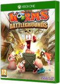 Worms Battlegrounds - Alien Invasion Xbox One Cover Art