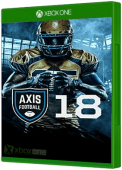 Axis Football 2018 Xbox One Cover Art