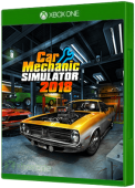 Car Mechanic Simulator Xbox One Cover Art