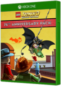 LEGO Batman 3: Beyond Gotham - 75th Pack Xbox One Cover Art