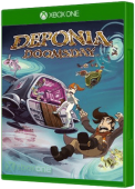 Deponia Doomsday Xbox One Cover Art