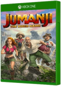 JUMANJI: The Video Game Xbox One Cover Art