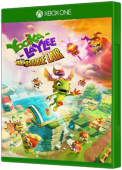 Yooka-Laylee and the Impossible Lair Xbox One Cover Art