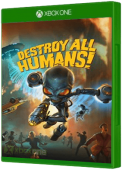Destroy All Humans! Xbox One Cover Art