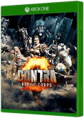 CONTRA ROGUE CORPS Xbox One Cover Art
