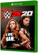 WWE 2K20 video game, Xbox One, xone