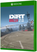 DiRT Rally 2.0: Latvia Rallycross Xbox One Cover Art