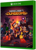 Minecraft Dungeons Xbox One Cover Art