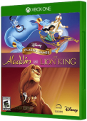Disney Classic Games: Aladdin and The Lion King Xbox One Cover Art