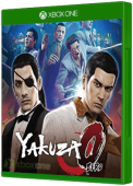 Yakuza Zero Xbox One Cover Art