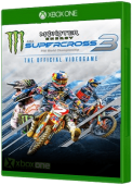 Monster Energy Supercross 3 Xbox One Cover Art
