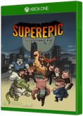 SuperEpic: The Entertainment War Xbox One Cover Art